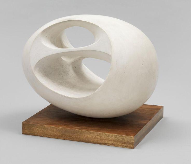 Dame <b>Barbara</b> <b>Hepworth</b> 'Oval <b>Sculpture</b> (No. 2)', 1943, cast 1958 ...