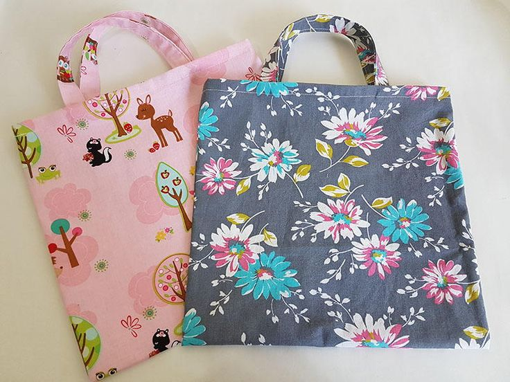 These are perfect for Halloween and birthday parties or as little bags to hold soft toys on a car trip!