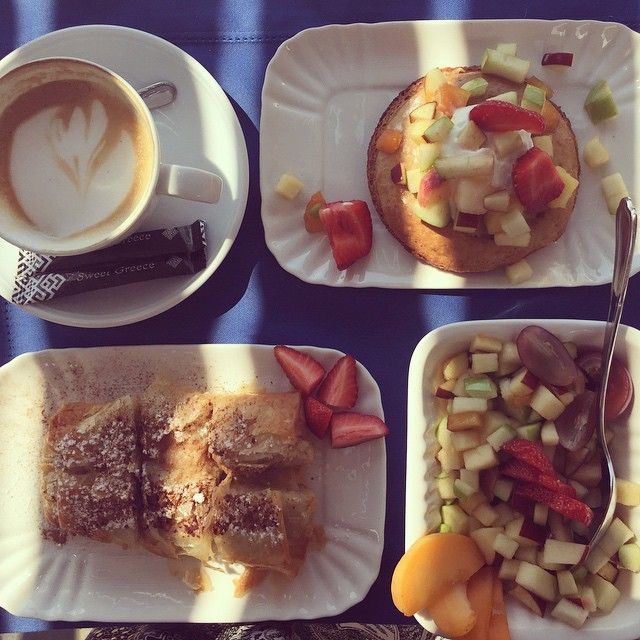 "Taste the ""Hellenic #Breakfast"" at #AnemiHotel #Folegandros"