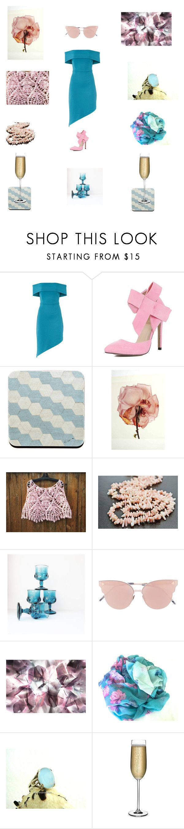Pastel pinks and blues by einder on Polyvore featuring interior, interiors, interior design, home, home decor, interior decorating, Nude and So.Ya