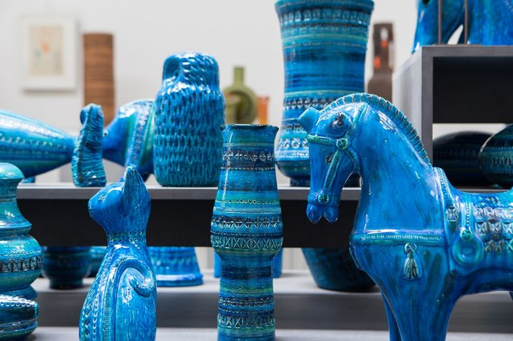 blue is the warmest color  BITOSSI CERAMICHE Aldo Londi #madeinitaly #design #ceramics