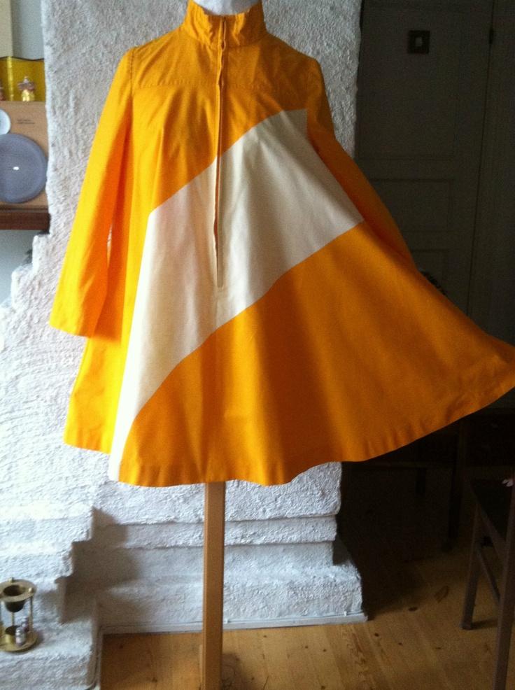 Mod Trapeze Dress by Marimekko Designer Vuokko Nurmesniemi    WOW!!!!!!!!!!
