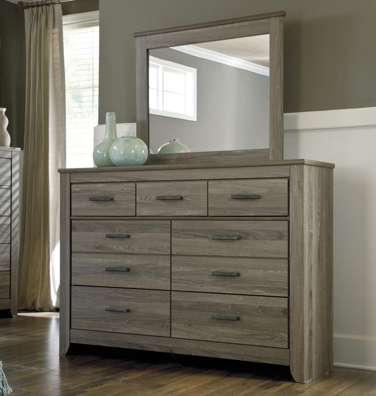 Best Signature Design By Ashley Zelen Rustic Tall Dresser 640 x 480
