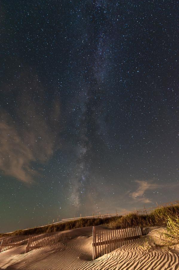 Estrellas sobre Corolla, Carolina del Norte, US. Publicado por: @JustSpacePhotos