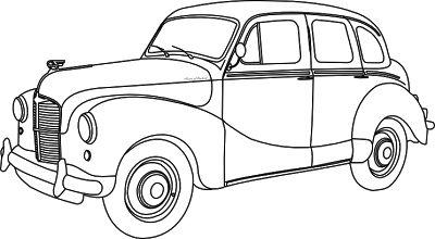 Mejores 35 imágenes de dibujos coches clasicos en