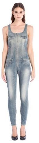 DIESEL Jeans DAMEN Latzhose Hose DE-GHEO Gr. S NEU! 250 Eu N244  22,22€