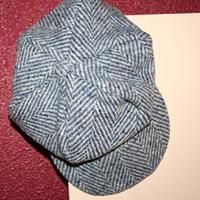 Newsboy cap  Free sewing pattern (adult size pattern, shrink to fit a little boy)
