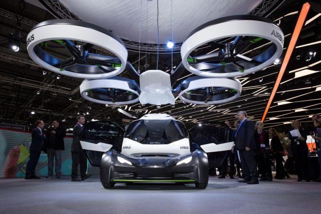 Covesia.com - Perusahaan aviasi Airbus Group memamerkan konsep mobil terbang layaknya sebuah drone dengan nama Pop.Up pada pameran otomotif Jenewa...