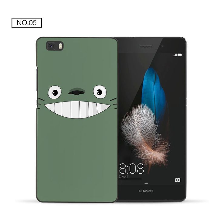 For P8 lite case My Neighbor Totoro PC back cover for fundas Huawei P8 lite case 2016 new arrivals coque for Huawei P8 lite
