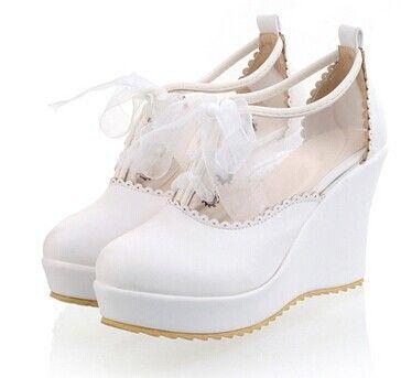 $30.99 (Buy here: https://alitems.com/g/1e8d114494ebda23ff8b16525dc3e8/?i=5&ulp=https%3A%2F%2Fwww.aliexpress.com%2Fitem%2F2014-Fashion-Footwear-Nude-Women-s-Pumps-Wedges-Shoes-Students-l-Sweet-Thick-Bottom-Platform-Sandal%2F1890056287.html ) 2014 Fashion Footwear Nude Women's Pumps Wedges Shoes Students l Sweet Thick Bottom Platform Sandal Wedge Heels Big Size Shoes for just $30.99