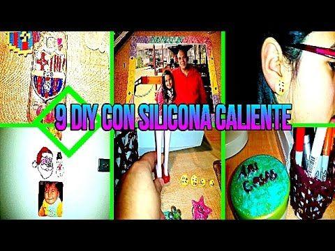 DIY 9 IDEAS CON SILICONA CALIENTE | 9 MANUALIDADES FACILES CON SILICON |...