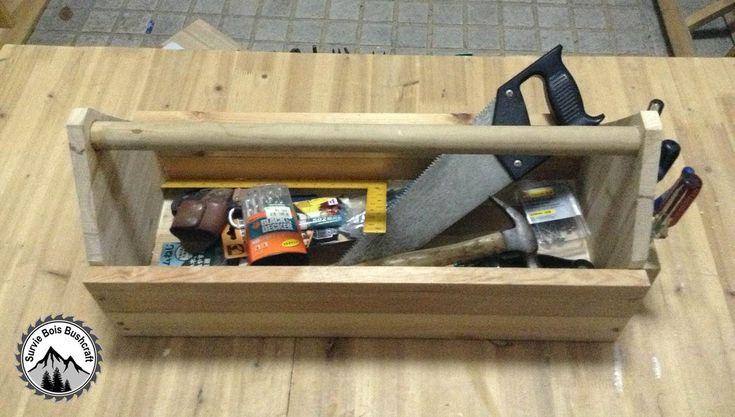Comment construire une caisse à outils en bois - TUTO
