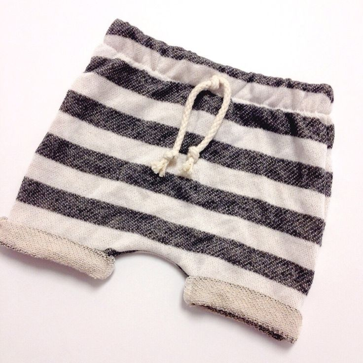 Baby Toddler Girl Boy Striped French Terry Harem Shorts Sz. 3m-4T by loveumkids on Etsy https://www.etsy.com/listing/232410304/baby-toddler-girl-boy-striped-french