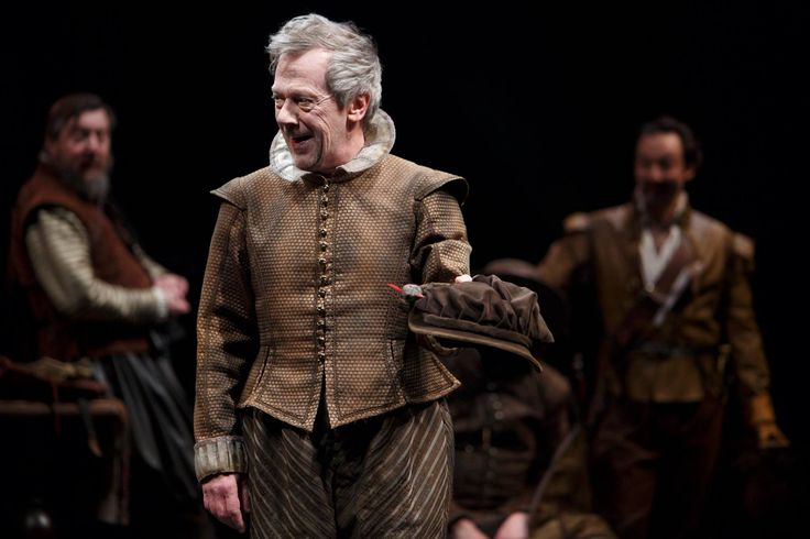 Don't miss your chance to see our moving production of King Lear in spectacular HD at a cinema near you starting today!   (P) Stephen Ouimette as the the Fool. Photo by David Hou.