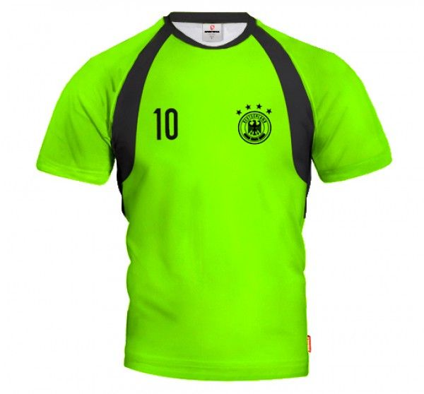 GERMANY 2014/15 Football Goalkeeper Jersey With Short Sleeve With Custom Name and Number