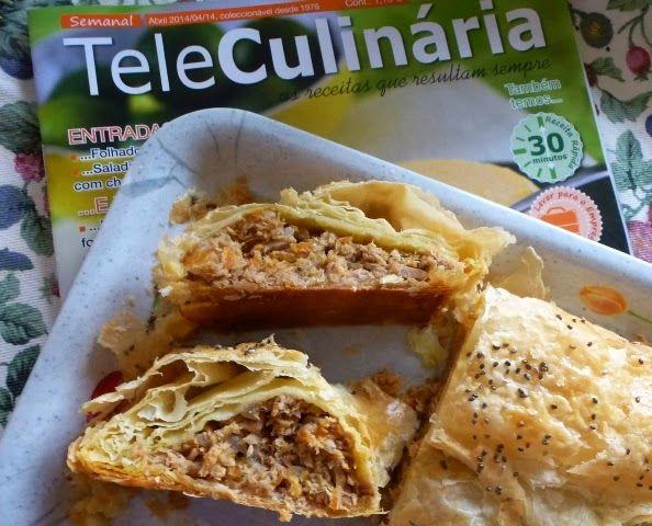 """Bago de Romã: """"In TeleCulinária"""" - Folhado de Atum"""