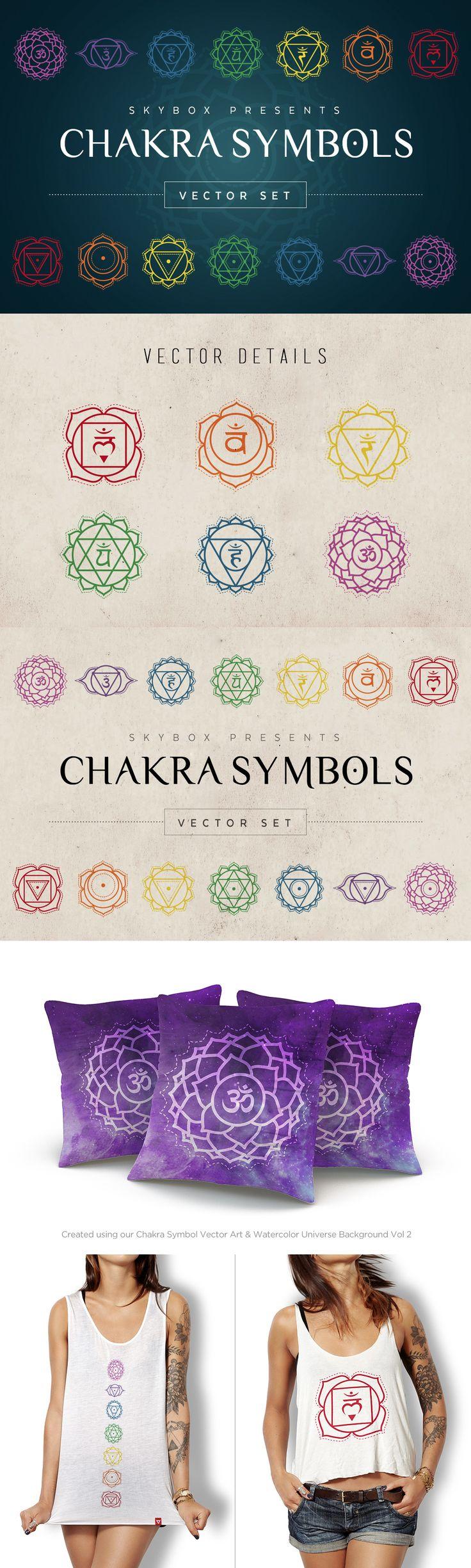 Chakra Symbols #Vector Set                                                                                                                                                     More