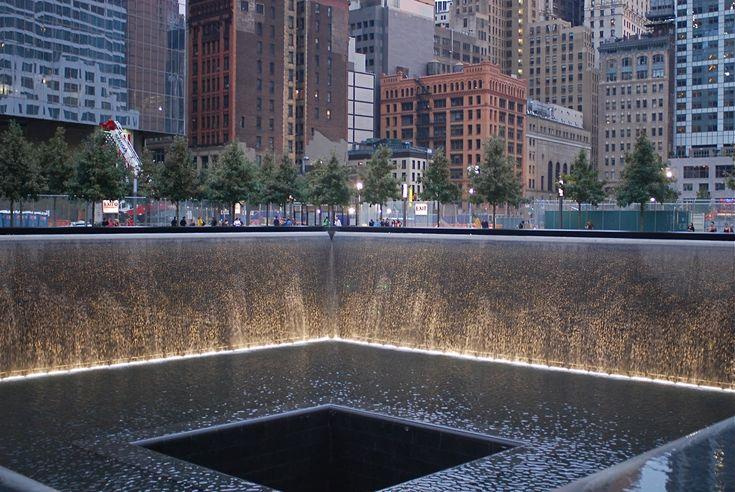 Picture From 9 11 Memorial | ... National September 11 Memorial (9/11 Memorial) - Twin Reflecting Pools