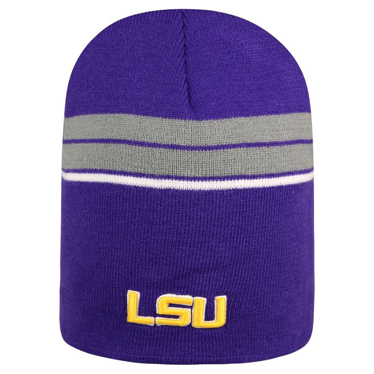 NCAA Lsu Tigers Baseball hats, Men's, Purple/Gold