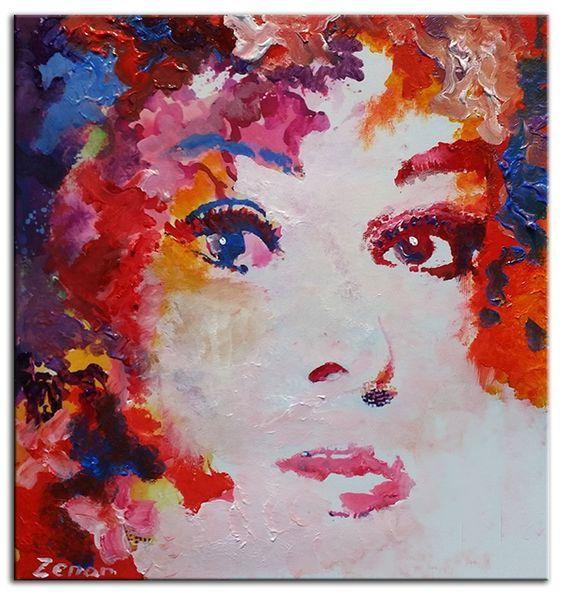 10 beste idee n over abstracte schilderijen op pinterest abstract schilderen abstracte kunst - Associatie van kleur e geen schilderij ...