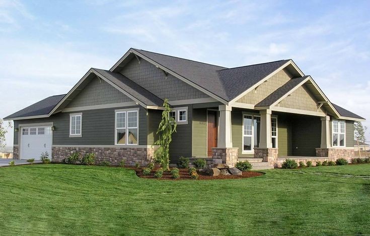 Open Living Area in Craftsman Design - 6935AM | Architectural Designs - House Plans