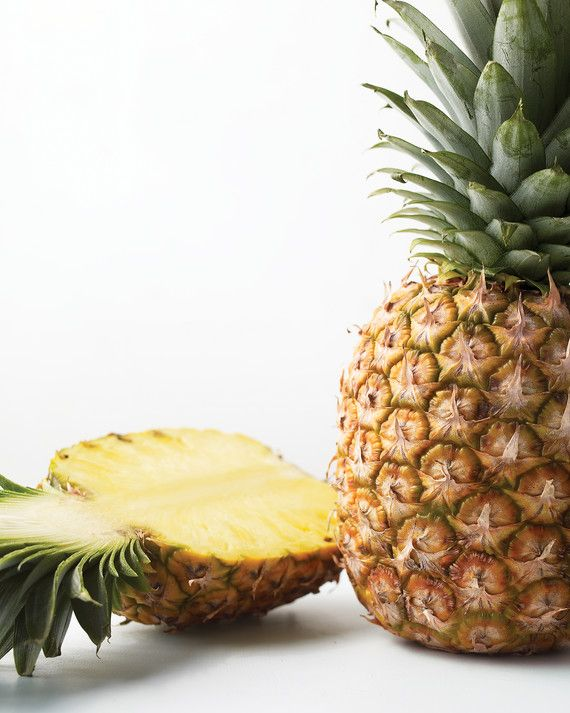 """You know those pesky brown """"eyes"""" pineapples have after you peel them? A melon baller is the best tool to remove them. Don't miss the rest of our easy approach to cutting up a pineapple."""