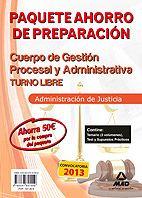 Paquete Ahorro Cuerpo de Gestión Procesal y Administrativa de la Administración de Justicia