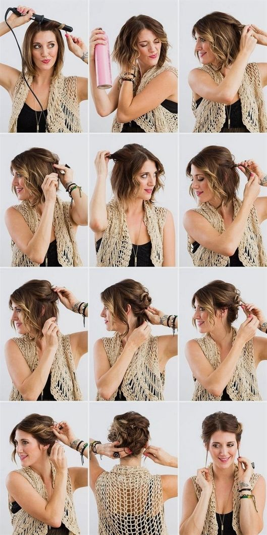 The updos are always in vogue and are preferred by most women for the special occasions. But not only as festive f …