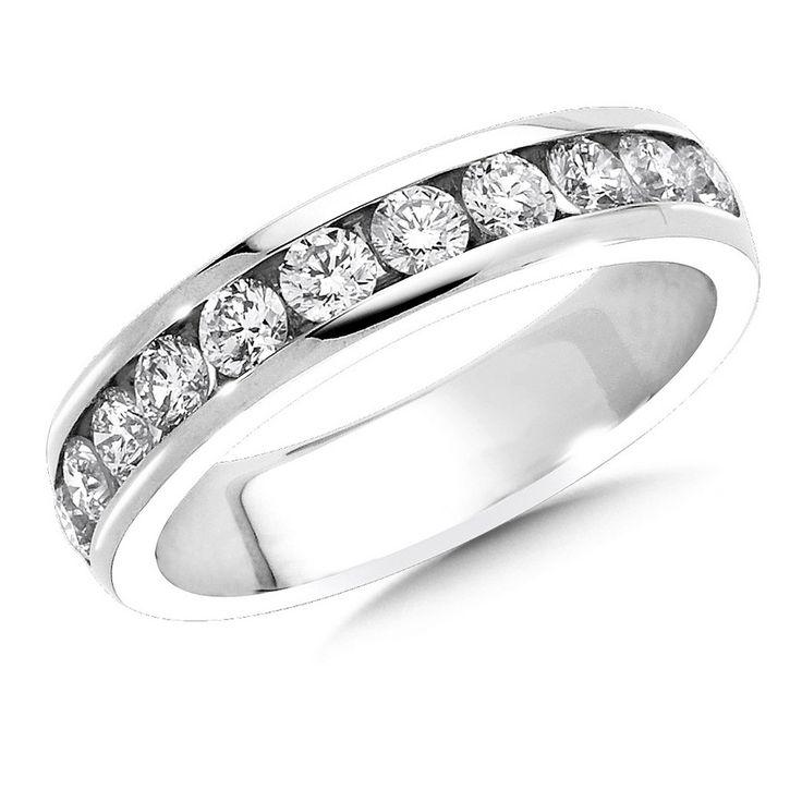 Diamond Wedding Band-Simon Golub Collection