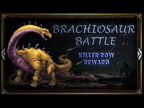 [FFBE] Farplane Monument | Brachiosaur - Killer Bow Quest #12