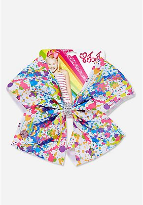 Paint Splatter Jojo Siwa Bow