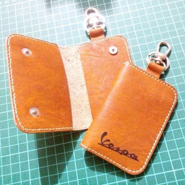 Leather Keyholder-Vespa Edition IDR 150K