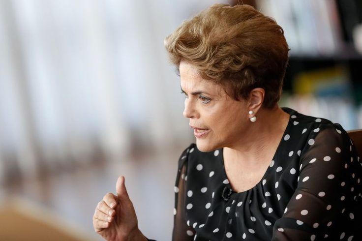 A presidente afastada Dilma Rousseff afirmou em entrevista ao SBT, exibida na…