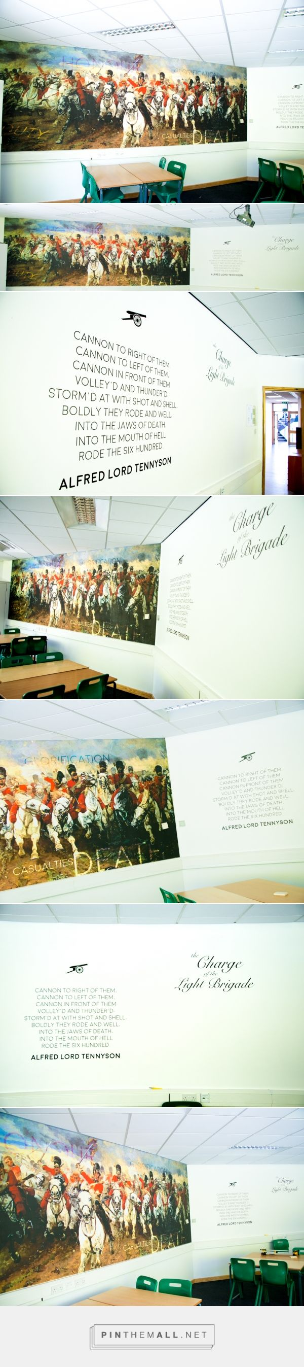 The Charge of the Light Brigade- Classroom Design on Behance