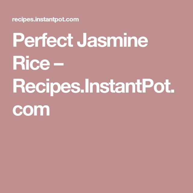how to make perfect brown jasmine rice