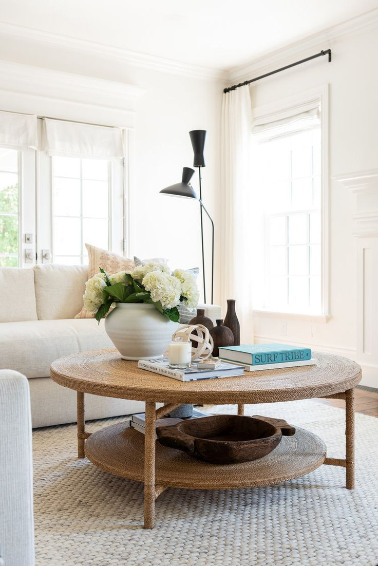 Hacks For Round Coffee Table Styling Studio Mcgee Round Coffee Table Decor Round Coffee Table Styling Round Coffee Table Living Room [ 1102 x 736 Pixel ]