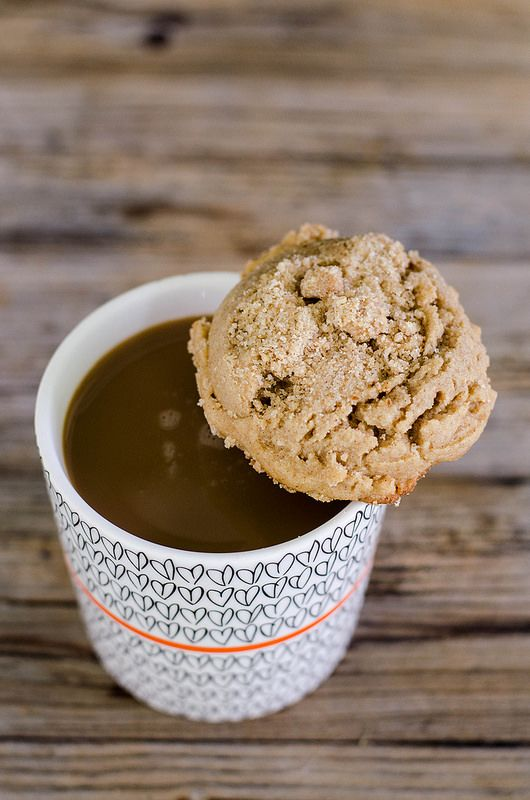 Coffee Cake Cookies #breakfast #cookies