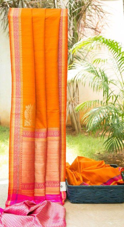 Benares Tussar L02495 | Lakshmi