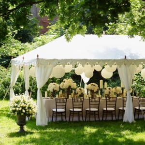 classic white marquee in the garden for a small gathering or weddding so pretty for summer. Especially bc I want a garden wedding! & 61 best Garden Tent inspiration images on Pinterest | Tents Dream ...