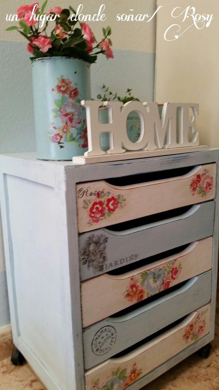 17 mejores ideas sobre escritorios reciclados en pinterest - Decorar reciclando muebles ...