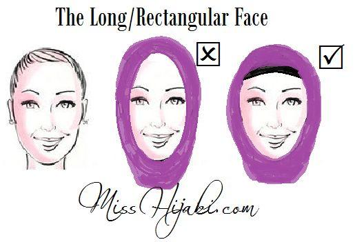 ملكة المغرب - Хиджаб, подходящий к вашему типу лица