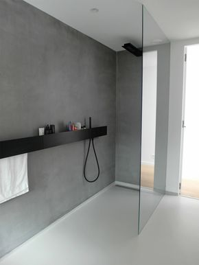 suelo y paredes de baño