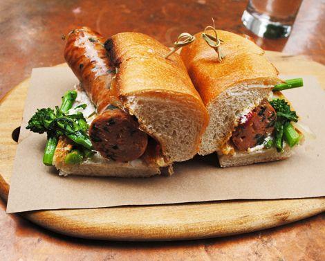 Locanda Verde ~ NYC ~ Broccoli Rabe Sausage Grinder