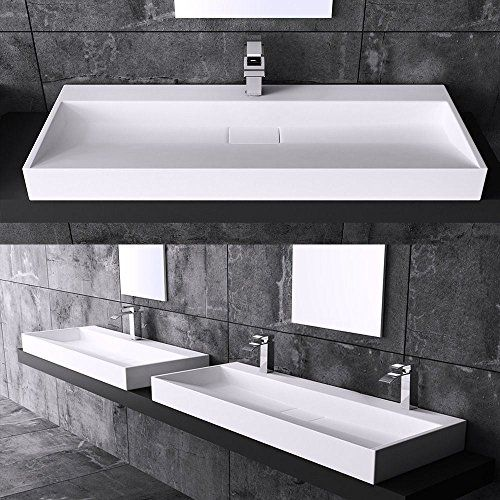 Large White Satin Solid Stone Slim Resin Basin Sink Wall ... https://www.amazon.co.uk/dp/B01KZX6XHA/ref=cm_sw_r_pi_dp_x_IyxgzbP3YX2BY