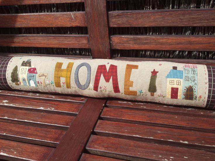 Luna Patch: Rulo o cojín HOME