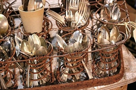Dishfunctional Designs: Spring It On! Interesting Things Made With Old Springs