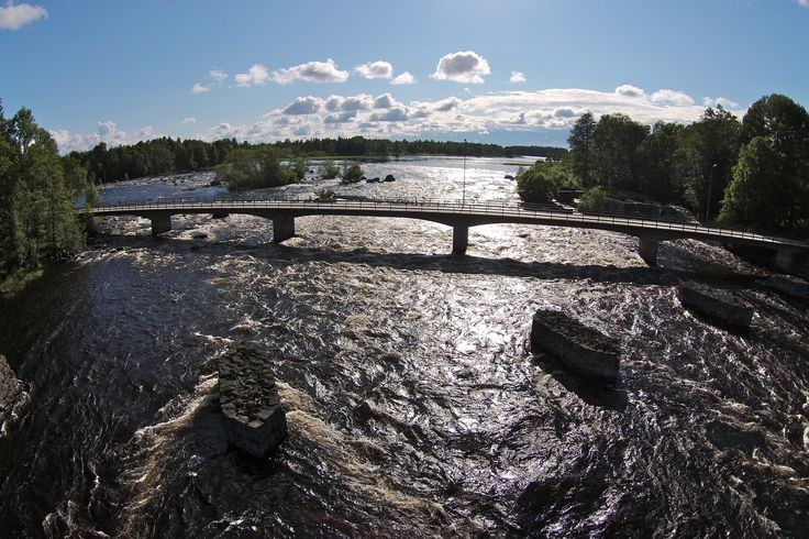 Gysinge på gränsen mellan Uppland och Gästrikland. Sommaren 2015