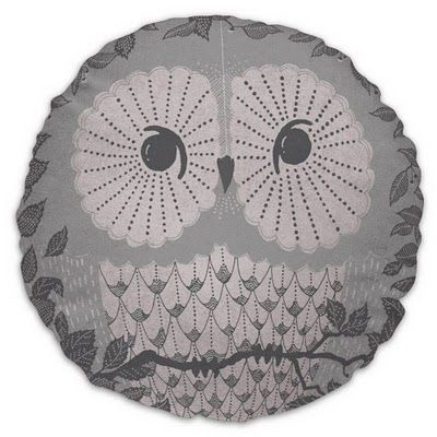:): Round Owl, Owl Pillows, Lose Weights, Easy Weights, Owl Cushions, Creatures Cushions, Weights Loss, Owls, Owl Creatures
