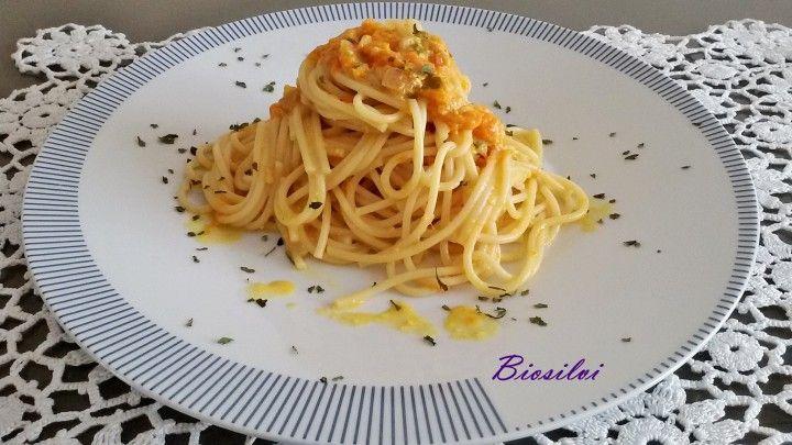 Spaghetti di kamut con zucca | Biosilvi