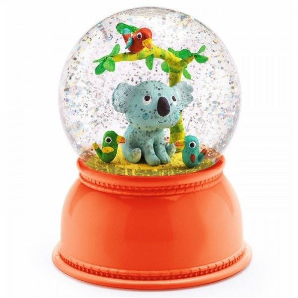Djeco - Night Light Snow Globe Kali Koala  Definitely at the $$$ end of the Christmas wish list, but totally loving this Djeco night light with Koala - it's so hard to find great quality Aussie homewares! Hugo (2) would just love this in his room, and so would I!  #EntropyWishList  #PinToWin  #Djeco #obsessedwithDjeco